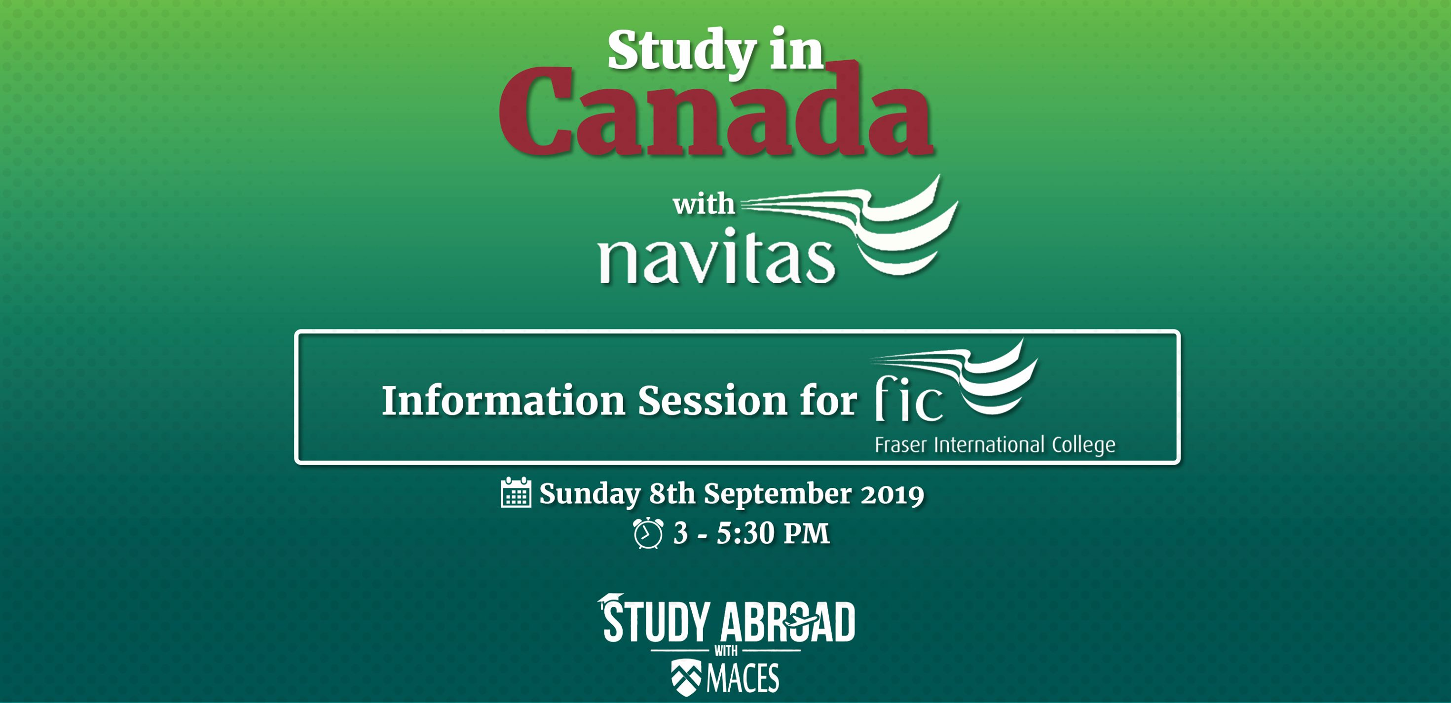 Meet Fraser International College at MACES Study Abroad with MACES-Education Consultancy